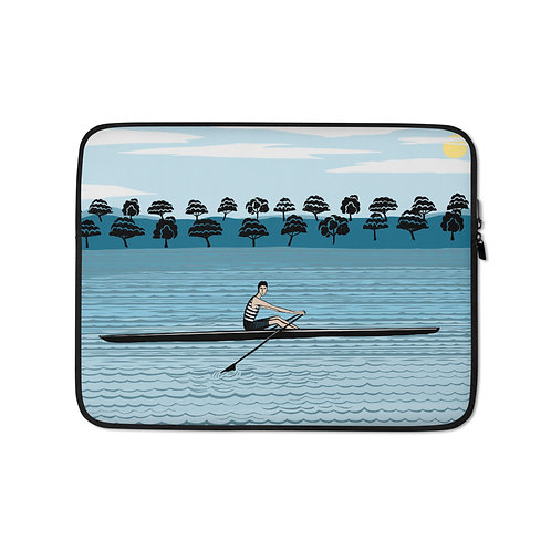 River Rower Laptop Sleeve