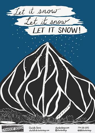 273 - Ski Town Christmas - Chardor Desig