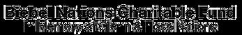 Biebel Nations Charital Fund Logo