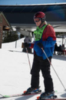 Jason Polluck Skiing
