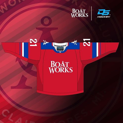 Boat Works Red