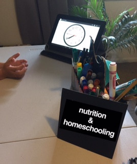 Nutrition during homeschooling