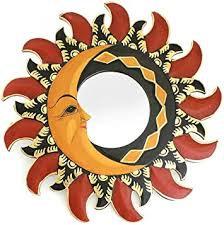 Dekospiegel Sonne Mond