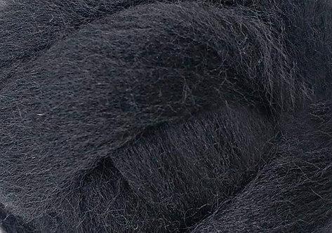 Filzwolle schwarz