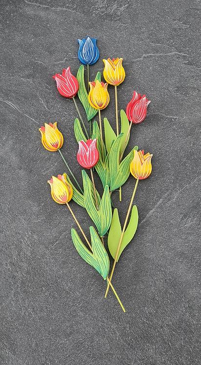 Holz-Tulpen