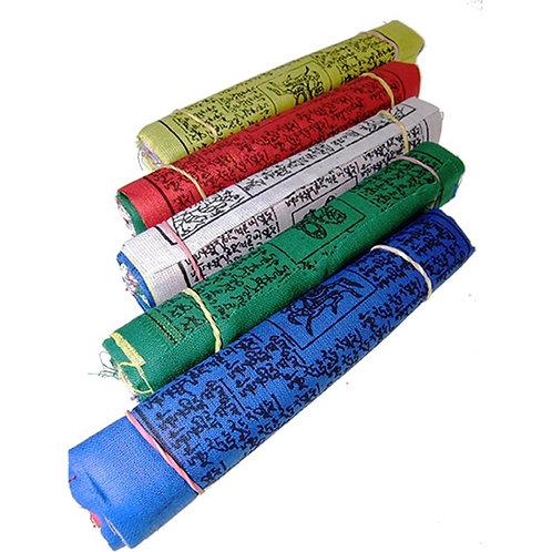 25 Tibetische Gebetsfahnen