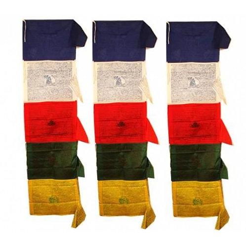 Gebetsfahne Tibetan - vertikal