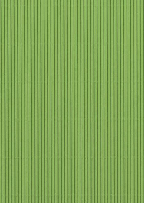 Wellpappe hellgrün