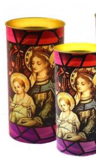 Kerzen Maria und Jesus