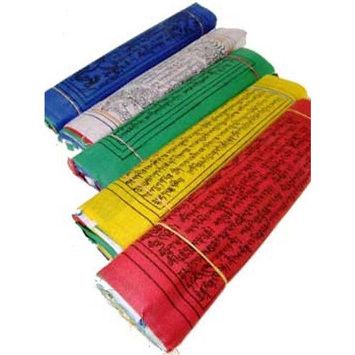 10 Tibetische Gebetsfahnen