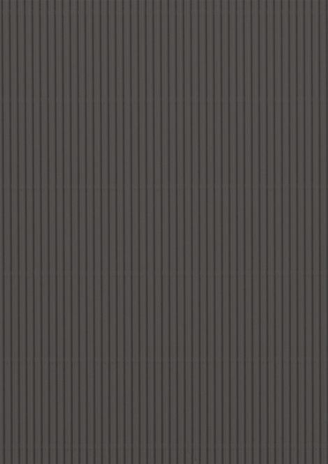 Wellpappe schwarz