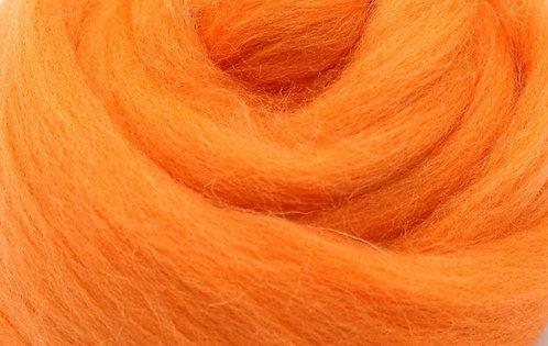Filzwolle orange