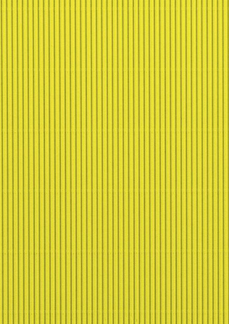 Wellpappe gelb