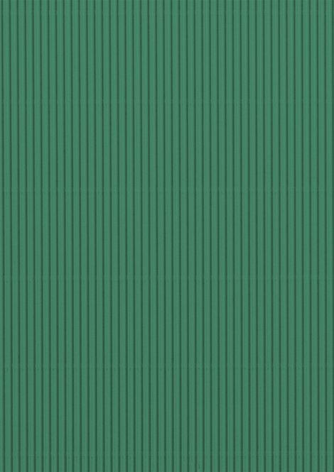 Wellpappe grün