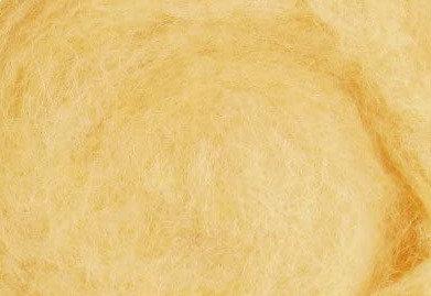 Filzwolle maisgelb