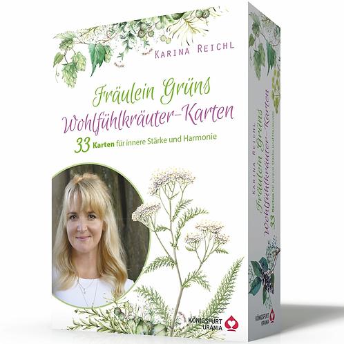 Karten-Set - Fräulein Grüns Wohlfühlkräuter für die Seele