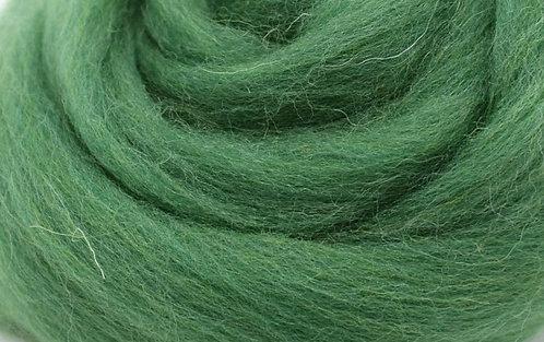 Filzwolle grün