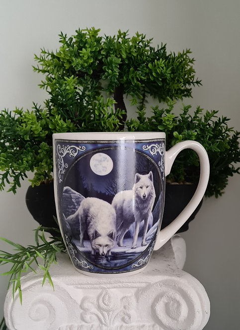Winter Krieger Wolf