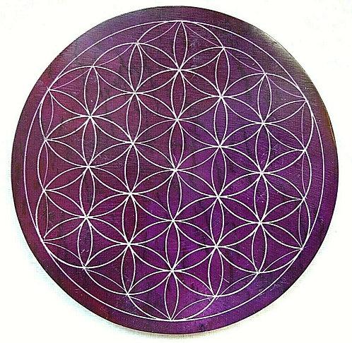 Untersetzer lila