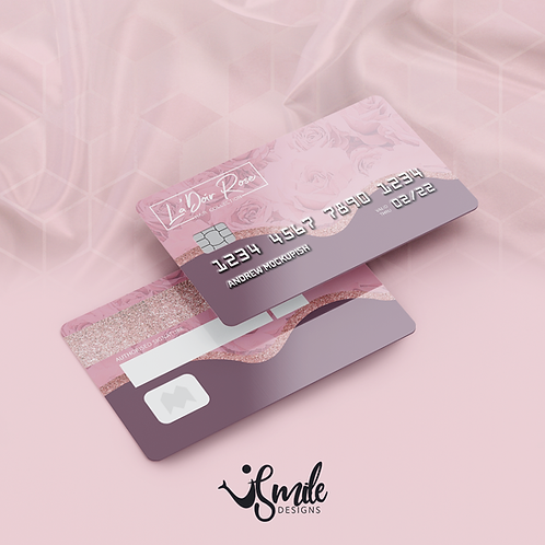 Custom Credit Card Styled Business Cards