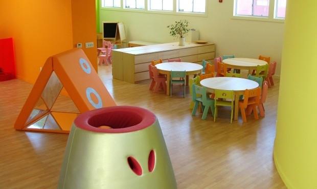 La Scuola, progettata da ZPZ partners, arredi Play+