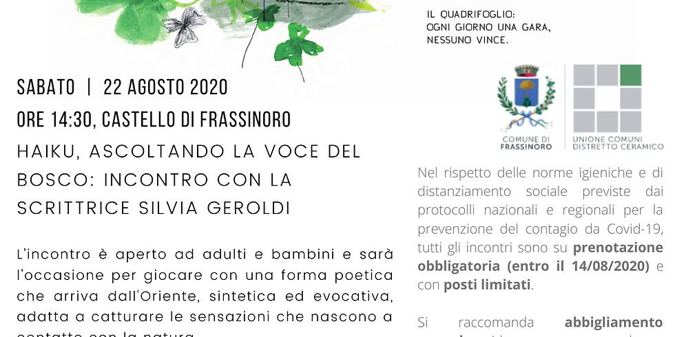 SCONFINAMENTI con Silvia Geroldi