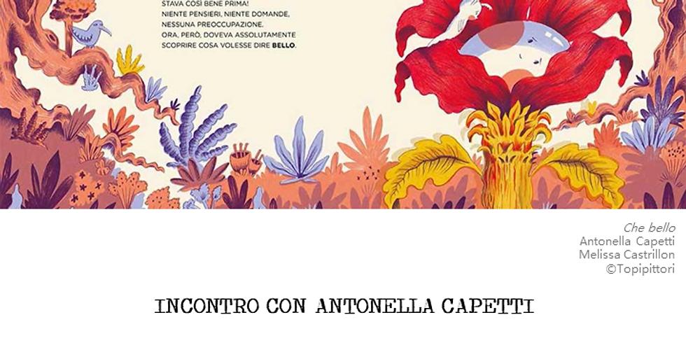 OSPITI INSOLITI: Antonella Capetti
