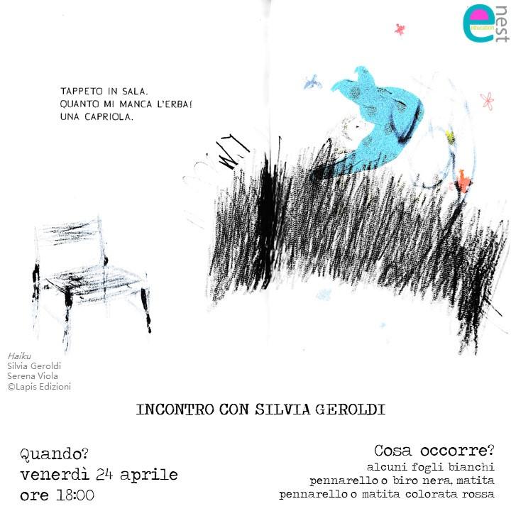 OSPITI INSOLITI: Silvia Geroldi