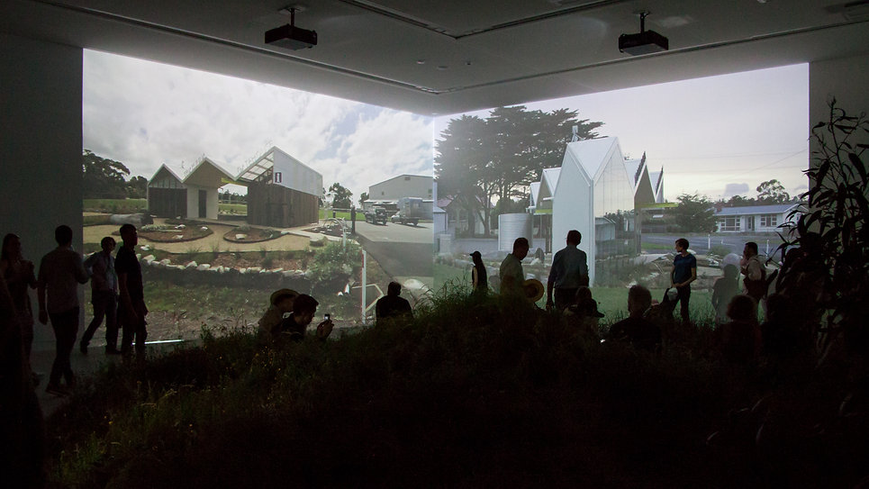 Video works of the Gatehouse exhibited at the Venice Biennale