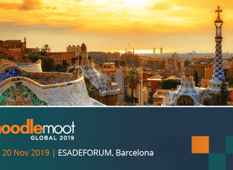 MEDIAL exhibiting at Moodle Moot Global, Barcelona