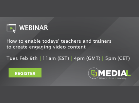 MEDIAL | How to enable todays' teachers and trainers to create engaging video content