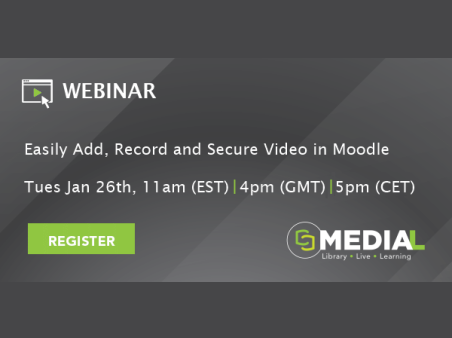MEDIAL | Easily Add, Record and Secure Video in Moodle