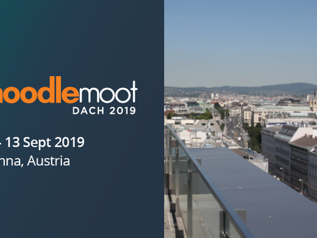 MEDIAL exhibiting at Moodle DACH 19, Vienna