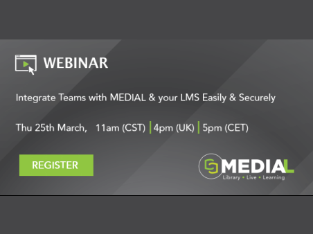 MEDIAL | Integrate Teams with MEDIAL & your LMS Easily & Securely