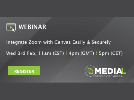 MEDIAL | Integrate Zoom with Canvas Easily and Securely