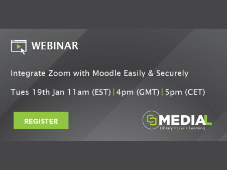 MEDIAL | Integrate Zoom with Moodle Easily and Securely
