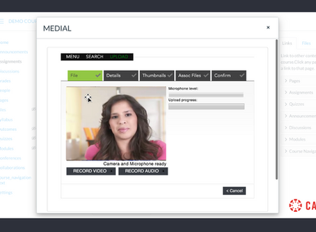 MEDIAL – Canvas Student Video Submission