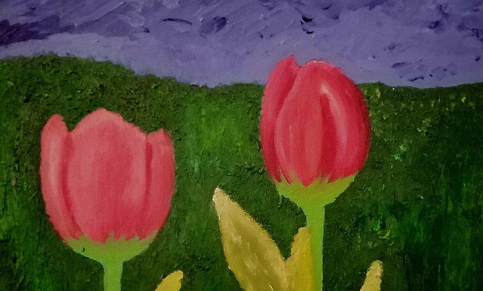 Tulipanes rojos 4