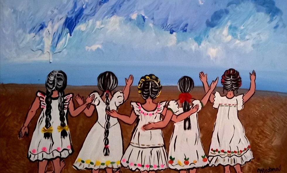 Las abuelas de Sepur Zarco saludan al mar