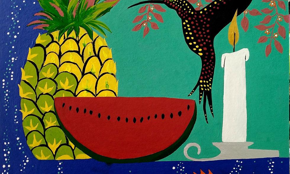 Bodegón tropical