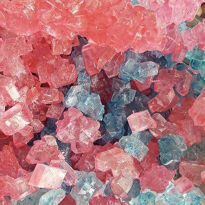 Rock Candy - Pink and Blue  1/4 LB