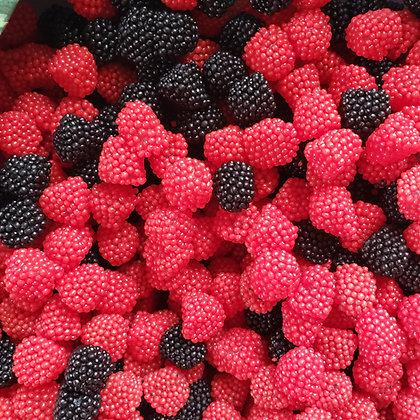 Raspberries & Blackberries 1/4 LB