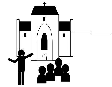 Dessin visites accompagnées à Saint Amand de Coly