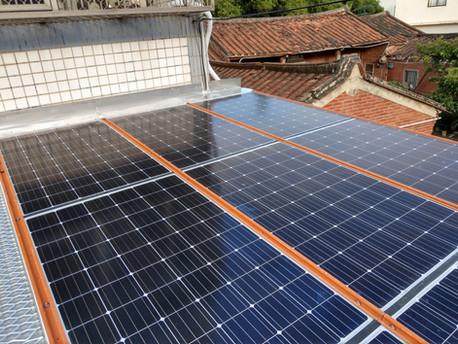 民宅分散式電力系統 - 醇氫發電機與太陽能微電網