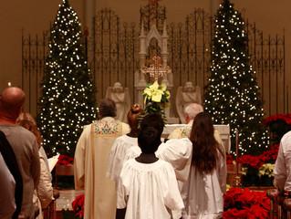2018 Christmas Mass Schedule