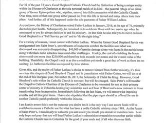 Good Shepherd Chapel to Close November 26th