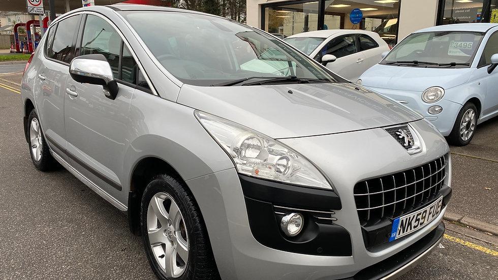 Peugeot 3008 2010 2.0 HDi FAP Exclusive 5dr