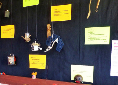 Objets en scène : exposition de l'atelier Théâtre d'objets