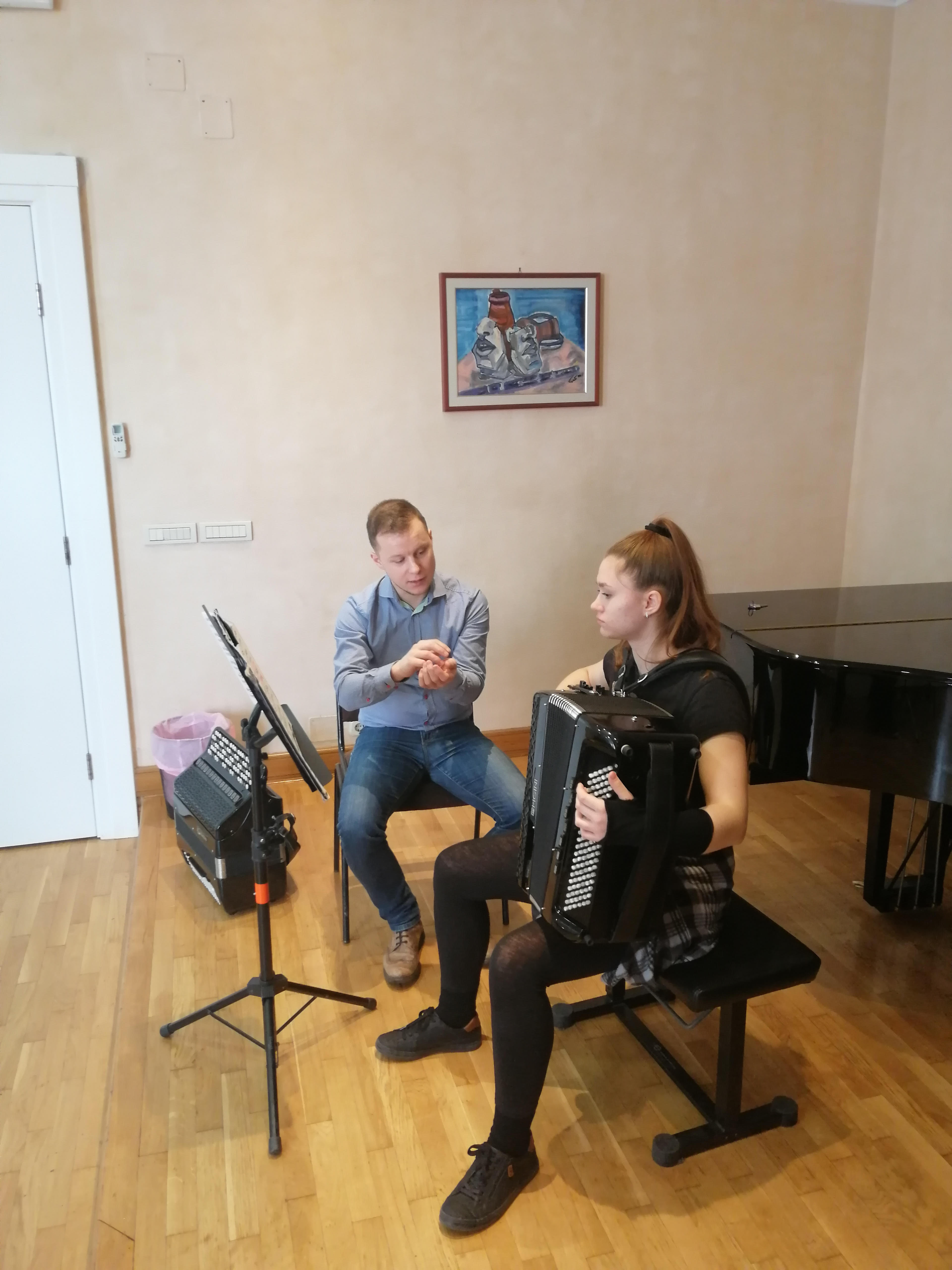 Masterclass v Rijeke/Chorvatsko