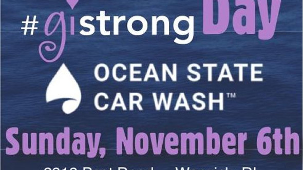 GiStrong Day at Ocean State Car Wash